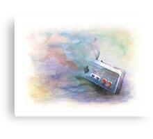 NES Painting Metal Print