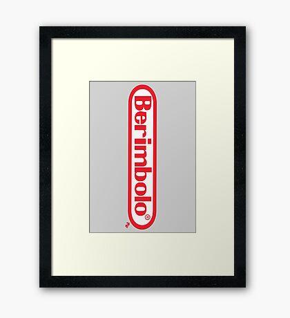 Berimbolo/Nintendo Framed Print
