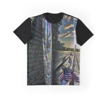 Vietnam War memorial on a sunny sunday morning  Graphic T-Shirt