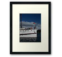 TSS Earnslaw, Lady of the Lake Framed Print