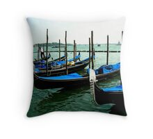 Gondola's Throw Pillow