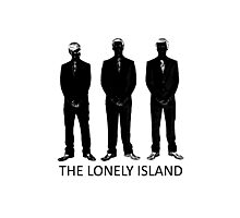 The Lonely Island Silhouette Photographic Print