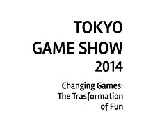 Tokyo Game Show 2014 #2 Photographic Print