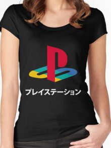 Playstation Women's Fitted Scoop T-Shirt