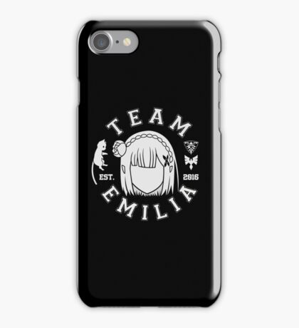 Team Emilia iPhone Case/Skin