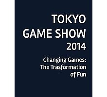 Tokyo Game Show 2014 #3 Photographic Print