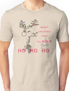 Merry Christmas From The Wild Unisex T-Shirt