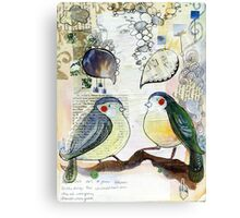 Tweet Tweet - Sweet Sweet Canvas Print
