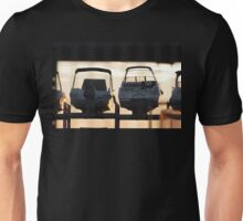 Parked motorboats Unisex T-Shirt