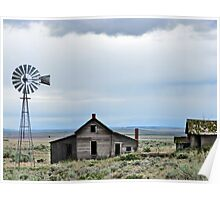 Abandoned Homestead Poster