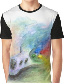 SNES Painting Graphic T-Shirt