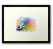 SNES Painting Framed Print
