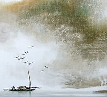 Misty Boat by aplcollections