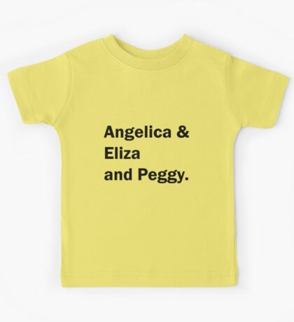 Schuyler Sisters Simple Kids Tee