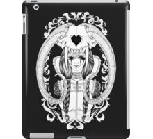 The Skull, the Tears, the Broken Heart iPad Case/Skin
