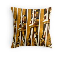 Golden Gates Throw Pillow
