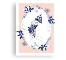 Magpie Bird Artprint Canvas Print