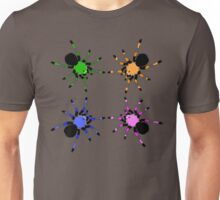 Candy Color Tarantulas Unisex T-Shirt