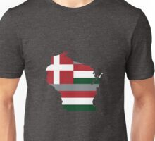 Greek WI (Red/White/Green) Unisex T-Shirt