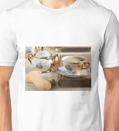 Porcelain tableware from the 19th century German Bavaria Unisex T-Shirt
