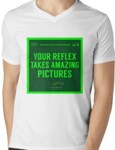 What NOT to Say to a Photographer Mens V-Neck T-Shirt