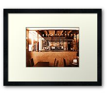 Another Round II Framed Print
