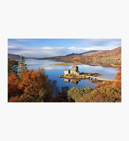 Eilean Donan in Autumn Photographic Print