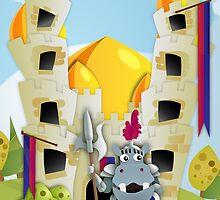 Hippo Hoppo - Castle by StudioRenate
