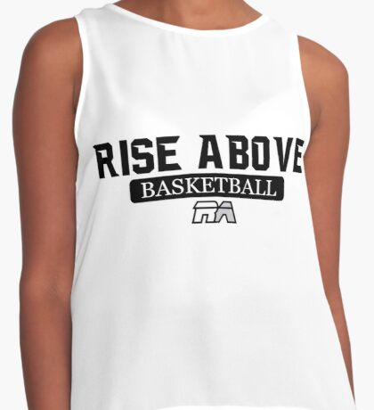 Rise Above Basketball Contrast Tank