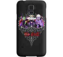 Three Wise Villains (black) Samsung Galaxy Case/Skin