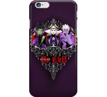Three Wise Villains (Purple) iPhone Case/Skin