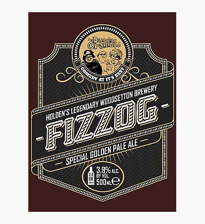 Fizzog Beer Label  Photographic Print