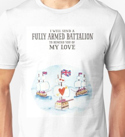 Hamilton - Fully Armed Unisex T-Shirt