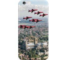 Red Arrows over Lincoln iPhone Case/Skin
