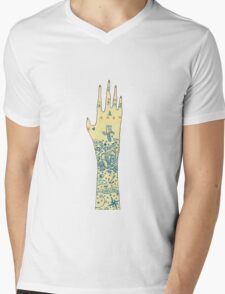 Tattoo Mens V-Neck T-Shirt
