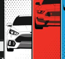 Ford Performance (Color) Sticker