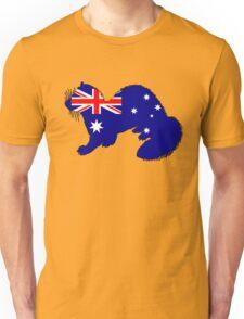 Australian Flag - Ferret Unisex T-Shirt