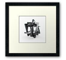 Orderly Tangle Framed Print
