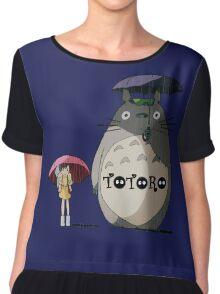 Totoro, Satsuki and Mei Chiffon Top