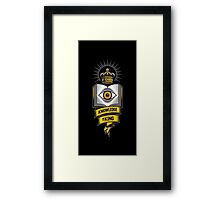 """""""KNOWLEDGE IS KING"""" Framed Print"""