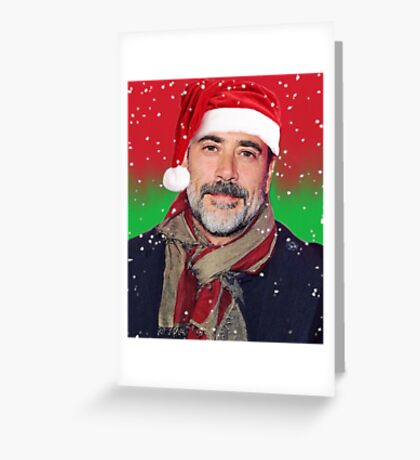 Jeffrey Dean Morgan- christmas Greeting Card