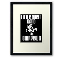 Little Shell Band of Chippewa Indians Framed Print