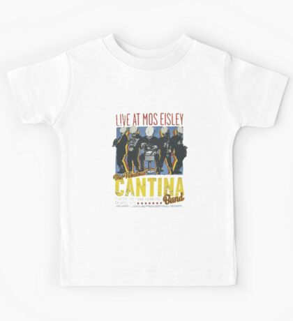 Star Wars - Cantina Band On Tour Kids Tee