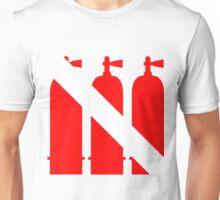 SCUBA Tanks Unisex T-Shirt