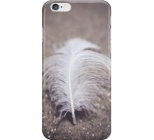 Like a Feather on the Wind iPhone Case/Skin