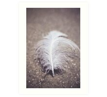 Like a Feather on the Wind Art Print