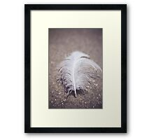 Like a Feather on the Wind Framed Print