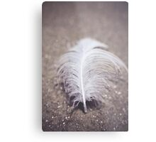 Like a Feather on the Wind Metal Print