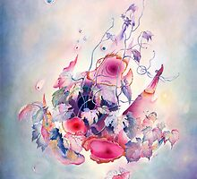 """""""The Flight"""" from the series  """"Flower Galaxies"""" by Anna Miarczynska"""