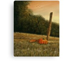 """October in the South""... prints and products Canvas Print"